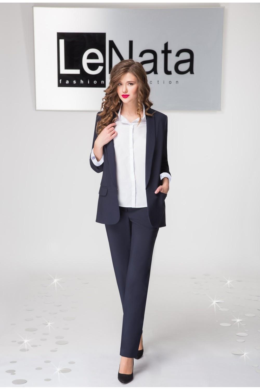 955bb9e591458 Брючный женский костюм (жилет, рубашка, брюки). Купить в интернет ...