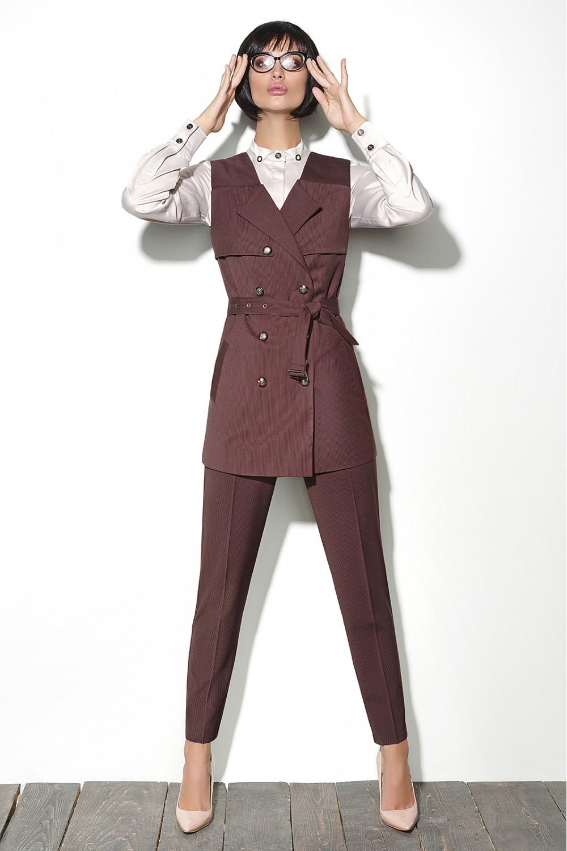 1c589c52400 Lyushe Костюм женский брючный. Купить дешево женский костюм