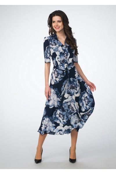 Платье женское шифон-дизайн