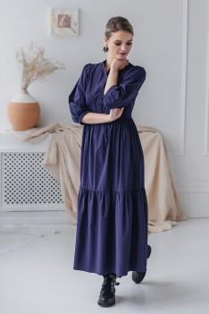 Платье женское темно-фиолетовый