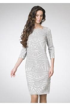 ASV Женское вечернее платье жаккард