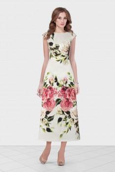 Condra 4651 Женское нарядное платье с цветочным рисунком