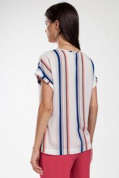 Блуза летняя в полоску.