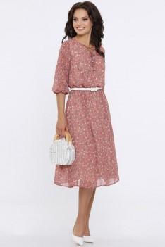 Платье Очарование с ремешком