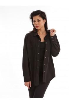 Блузка женская черный