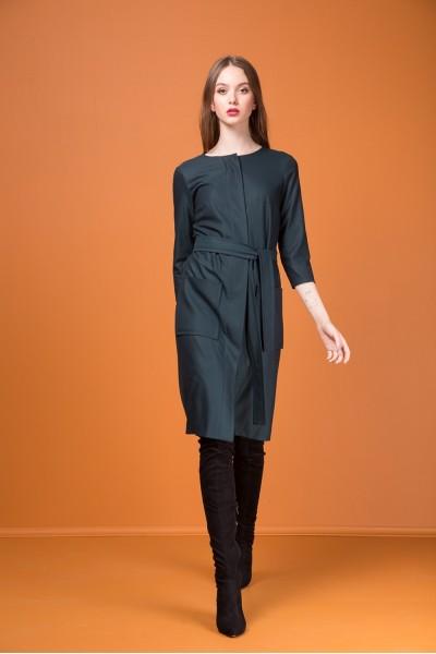 Kiara Платье женское, с накладными карманами2