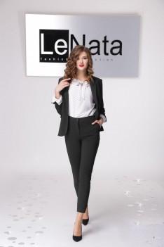 LeNata Деловой женский костюм жакет, блуза, брюки