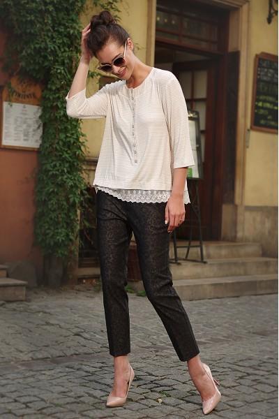 Lyushe Женский брючный костюм брюки+блуза