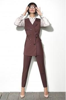 Lyushe Костюм женский: брюки, жилет