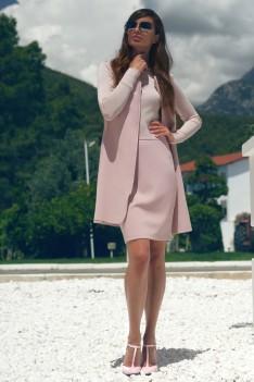 Vesnaletto Деловой женский костюм-тройка,пудра