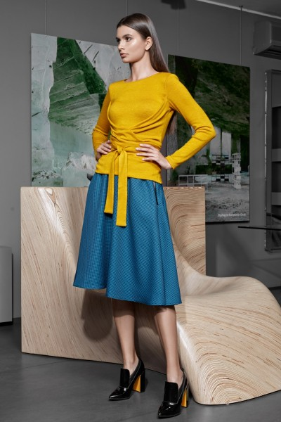 Vesnaletto женский юбочный костюм джемпер+юбка